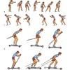 Имитация коньковых лыжных ходов