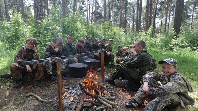 Тактические учения проведут в детском лагере «Хочу стать морпехом»