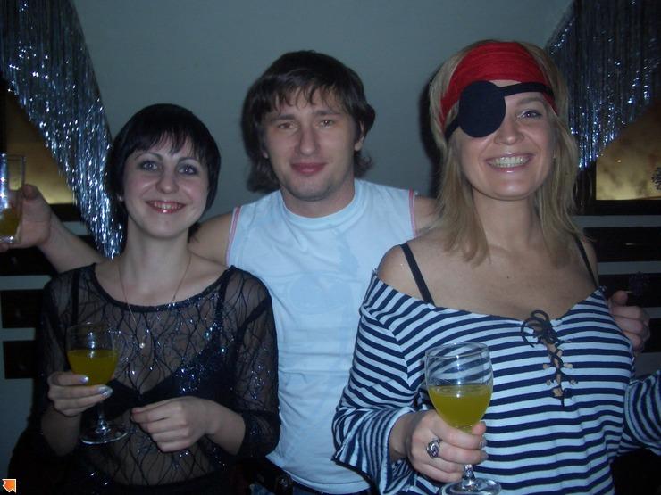 Новый год: Пират