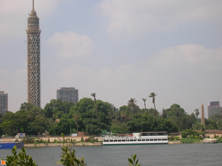 Вид с Нила