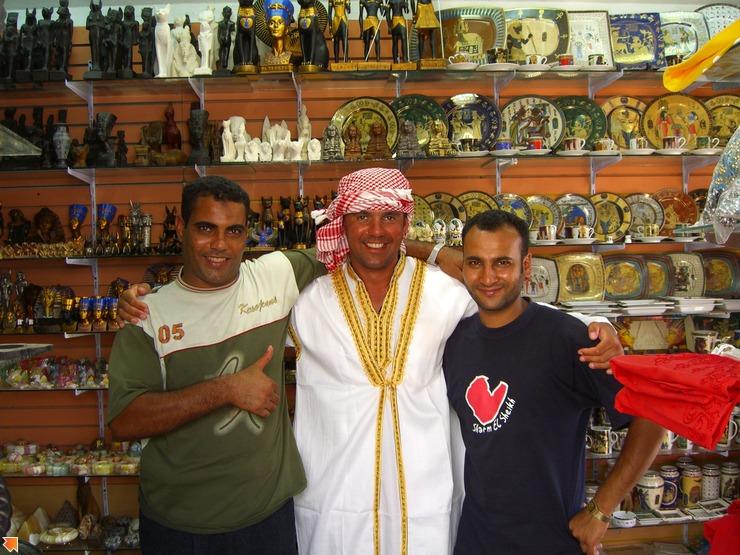 Наши египетские друзья