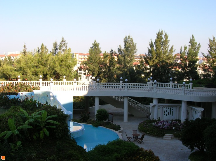 Вид с нашего балкона справа