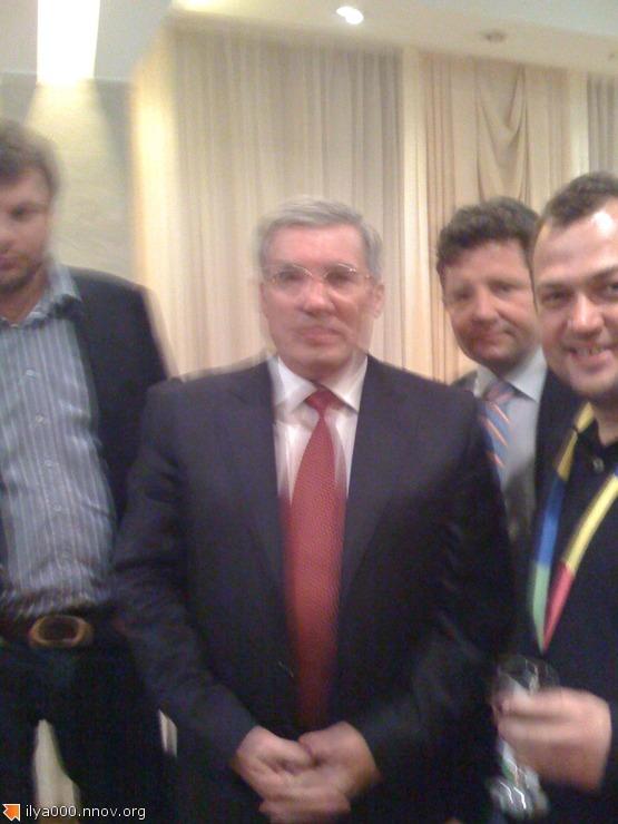 Я и губернатор Новосибирской области