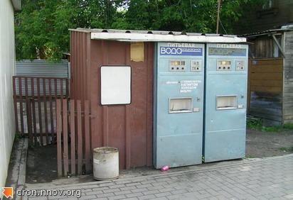 Автоматы с газировкой, Сенная площадь