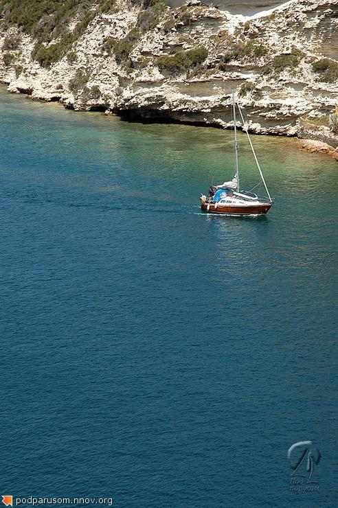 Малютка-яхта