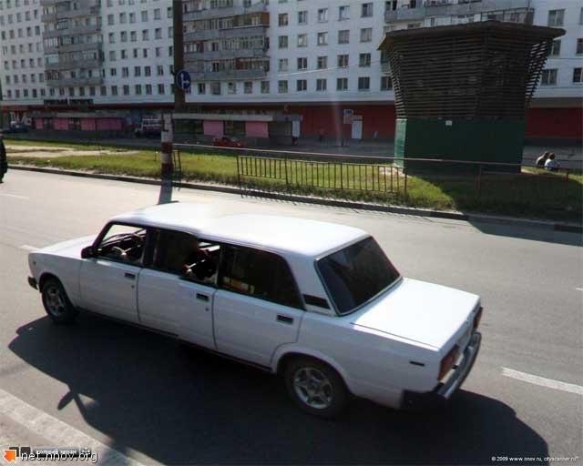 Ваз лимузин в Нижем не редкость
