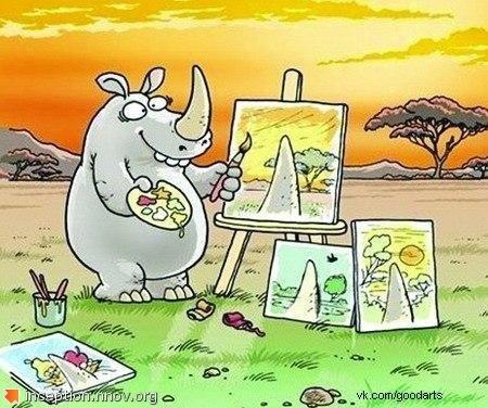 а ,что на твоих картинах?