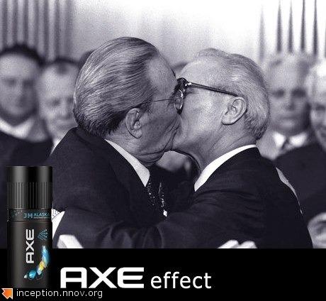 Axe effect.