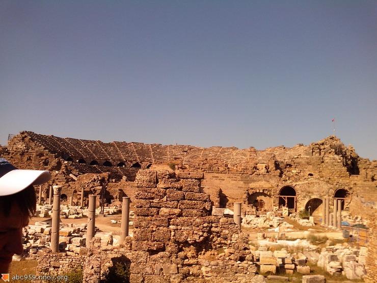 Агора и Театр Сиде