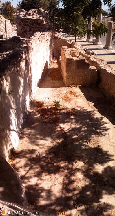 Древнегрецская изба,раскопки.