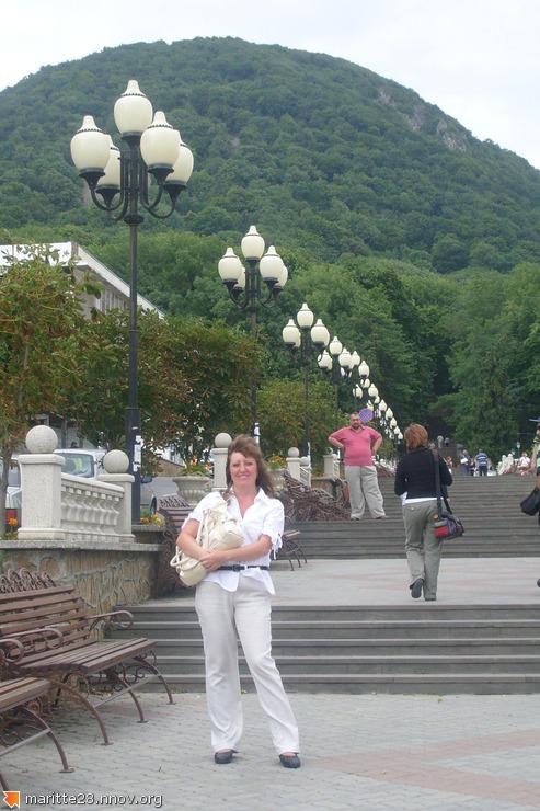 лестница в парк