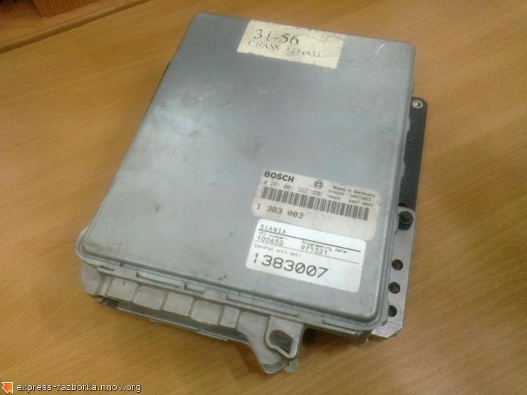 оф.0123 Блок управления двигателем Скания 1383007, 0281001322.jpg