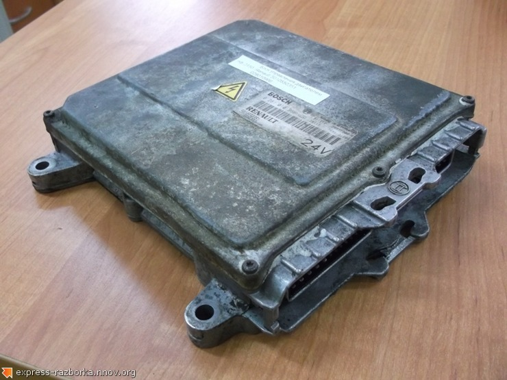 оф.0150 Блок управления двигателем Renault 5010550351  028010966.jpg