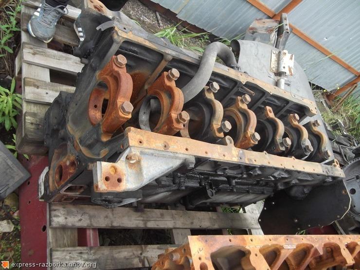 5987 блок двигателя DC1104 Scania Скания.JPG