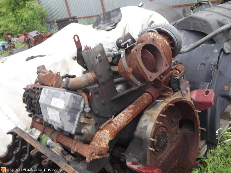5983 Двигатель MACK 560 Renault Magnum Рено Магнум.JPG
