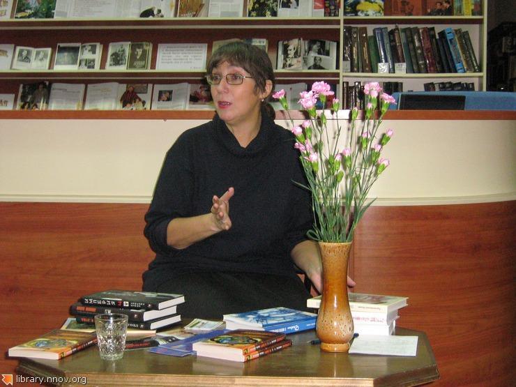 Елена Крюкова - желанный гость сормовских библиотек