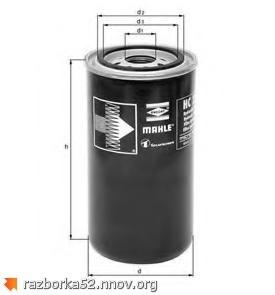 Масляный фильтр КПП Scania 4, 1768402, 1301696