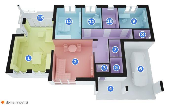 Дом 172 м2 (1 этаж с отделкой) маркеры.jpg