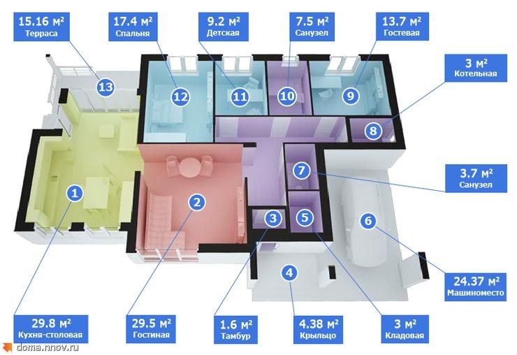 Дом 172 м2 (1 этаж с отделкой).jpg