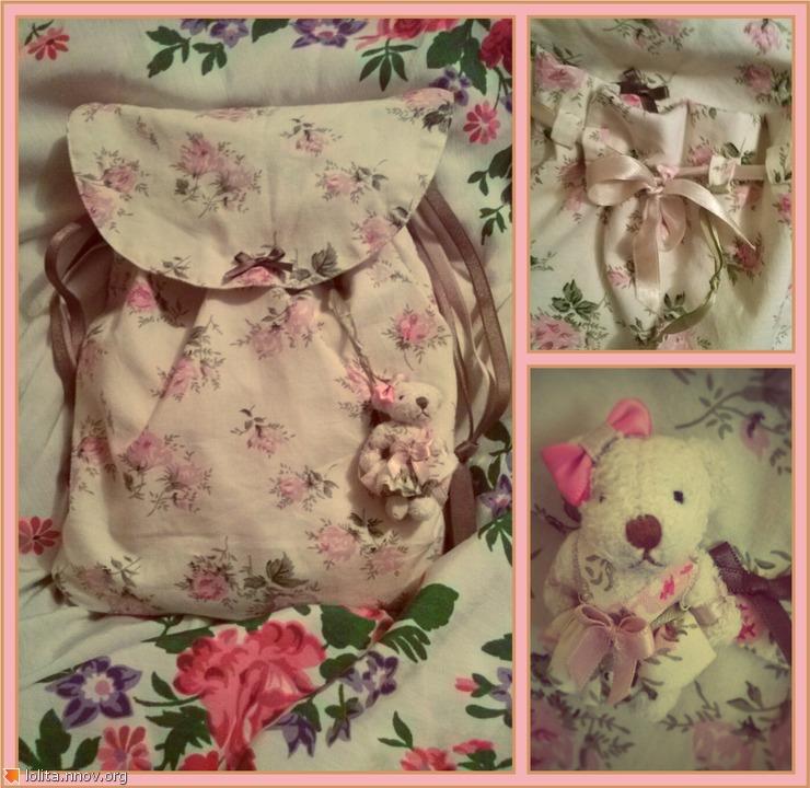 Рюкзачок(сделано руками)