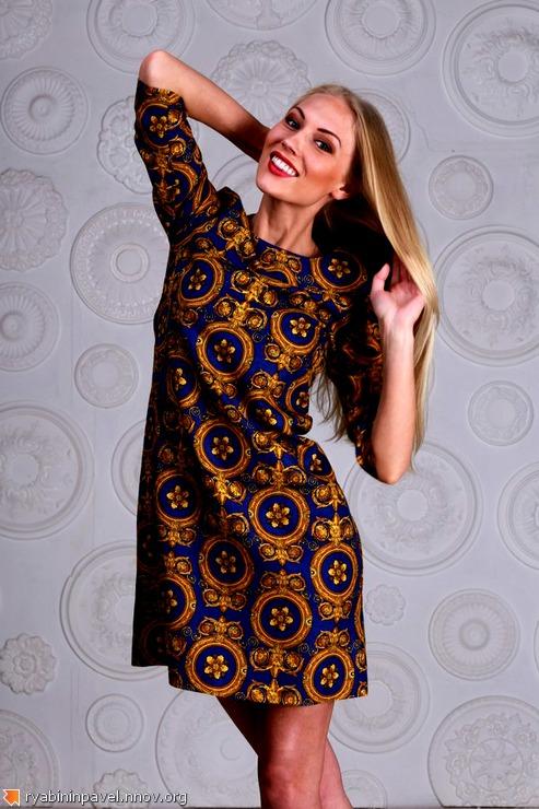 Платье от нижегородского дизайнера Павла Рябинина Нижний Новгород