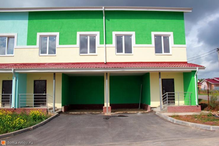 Таунхаус 104 м2 - фасад