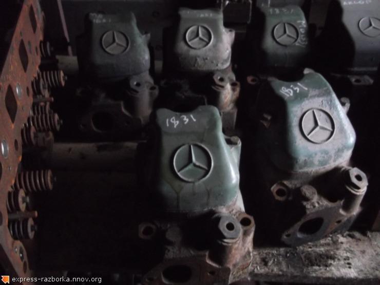 6637 ГБЦ (головка блока цилиндров) 4020100320  4420160505 Mercedes OM401 Мерседес.JPG