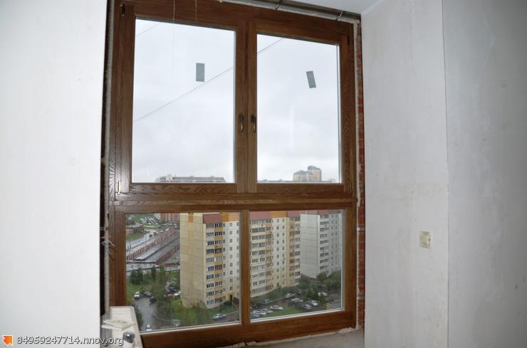 Деревянные окна на лоджию.JPG