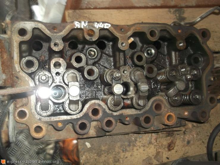 6636 ГБЦ головка блока цилиндров 5200503498 5001859221 Renault Magnum Рено магнум.JPG