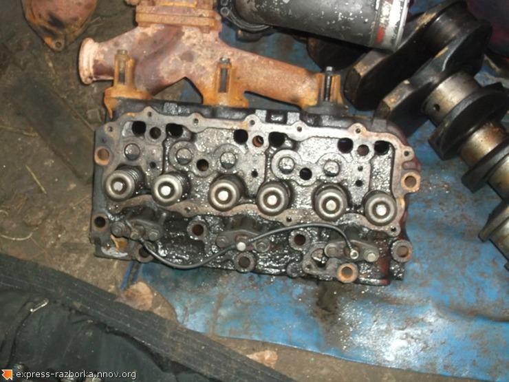 8457 головка блока цилиндров 61320064 61320066 Iveco 400E38 Eurotech Magirus Ивеко.JPG
