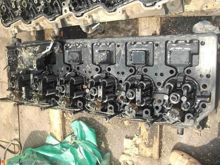 9334 ГБЦ головка блока цилиндров  1677700 1547931 VOLVO FH12 D12A фото 2.JPG