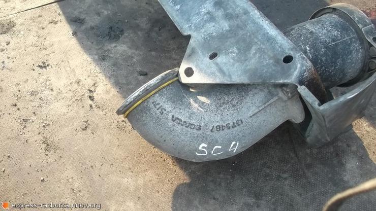 8958 Патрубок интеркулера 1375487 Scania скания 4.JPG