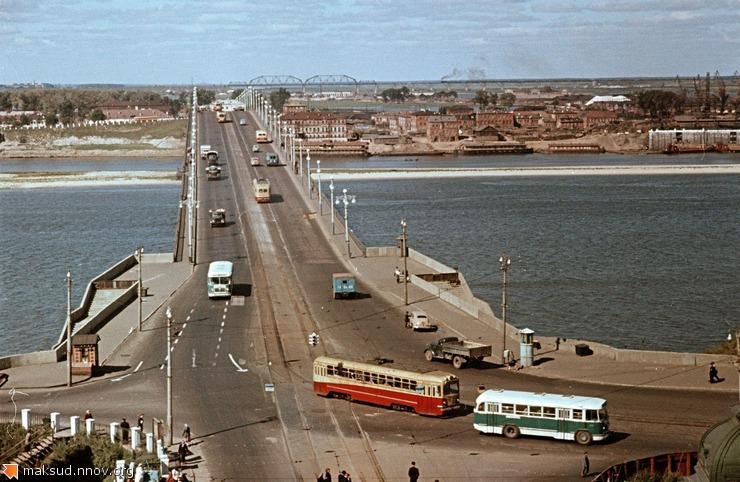 Канавинский мост (конец 50-х).jpg