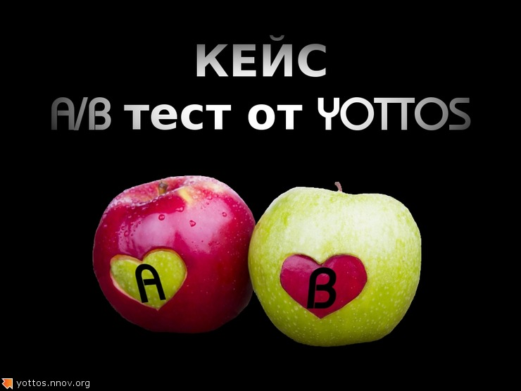Технический кейс « A/B тестирование в Content Experiments » от Yottos