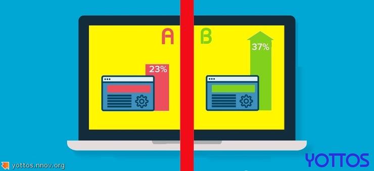 С применением A/B тестирования, конверсия вашего сайта возрастет в разы