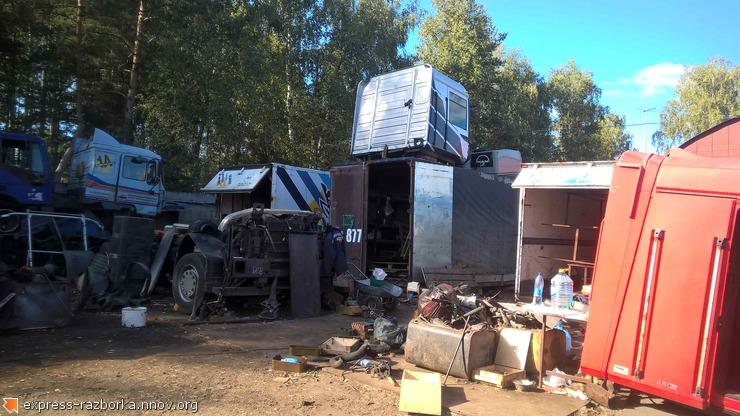 Авторазборка грузовиков в Нижнем Новгороде Лесная Поляна 19 MAN F2000.jpg