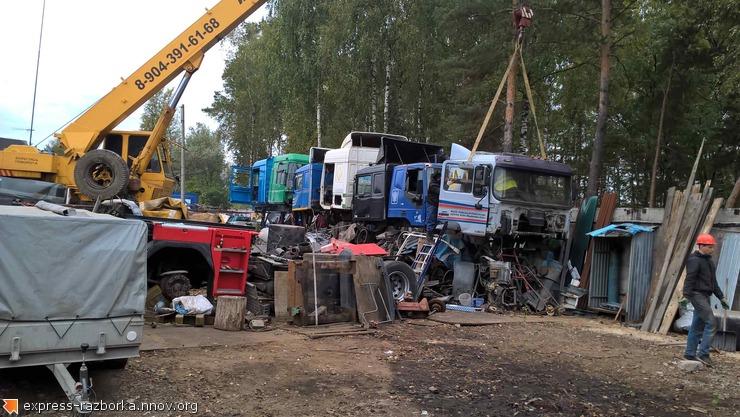 Авторазборка грузовиков в Нижнем Новгороде Лесная Поляна 19 мерседес аксор 89307085005.jpg