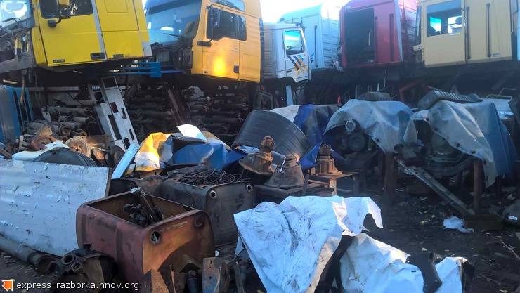Авторазборка грузовиков в Нижнем Новгороде Лесная Поляна 19 рено магнум 440.jpg