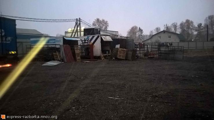 Авторазборка грузовиков в Нижнем Новгороде Лесная Поляна 19 скания 124.jpg