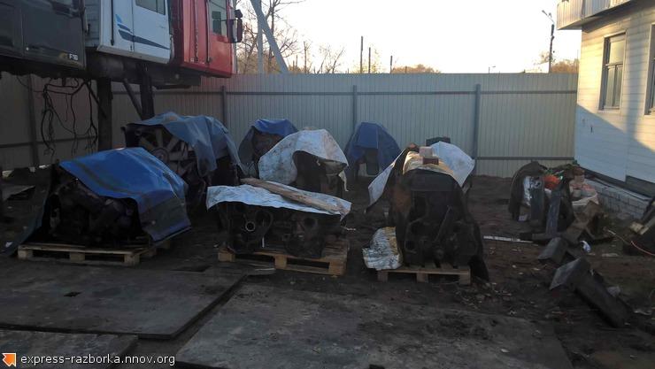 Авторазборка грузовиков в Нижнем Новгороде Лесная Поляна 19 скания 144.jpg
