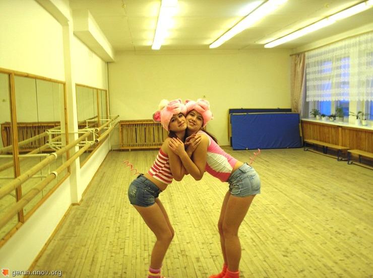 ученицы  1 школы  Воркуты  -