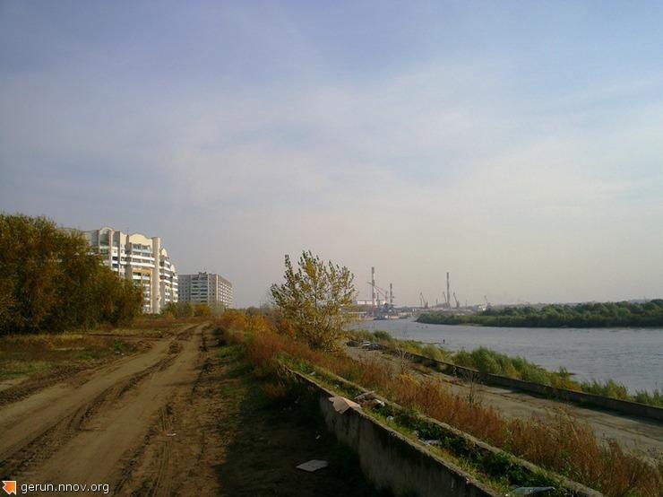 Дзержинск на  реке  ОКЕ