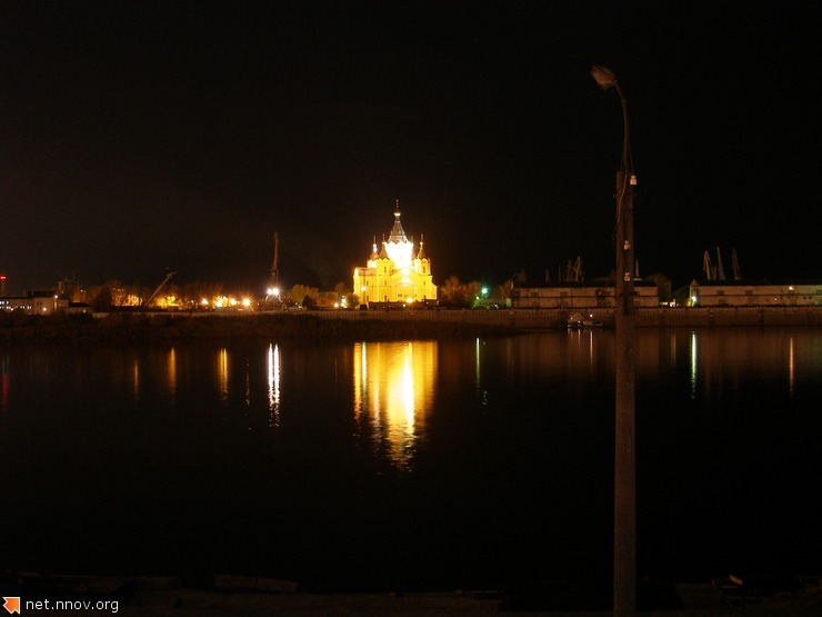 Нижний Новгород, Стрелка, Собор А.Невского (фото Мое)