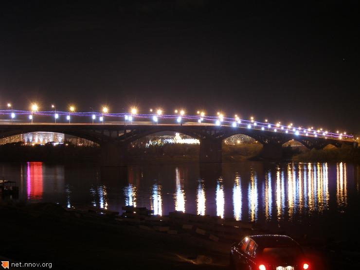 Нижний Новгород, Стрелка, Мост (фото Мое)