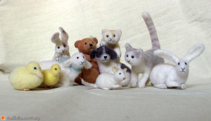 Авторские игрушки Натальи Фадеевой