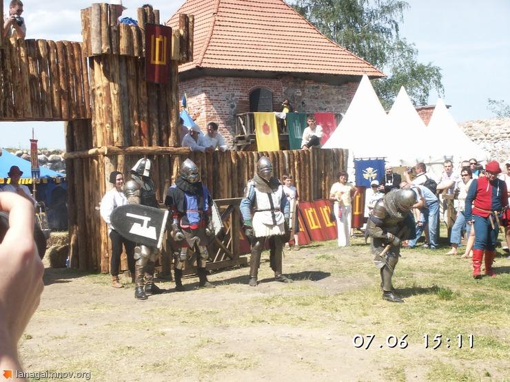 Тракайский замок, рыцарский турнир
