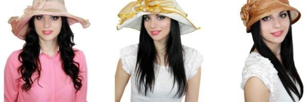 Летние шляпы lemmex.ru