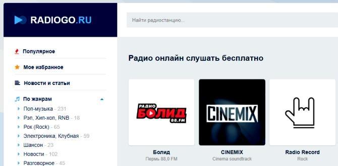 Радио Онлайн radiogo.ru