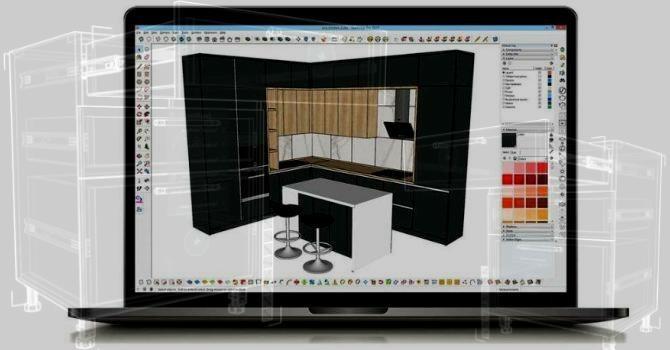 Проектирование мебели с Easykitchen