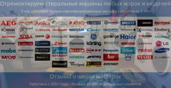 Услуги ремонта стиральных машин stiralkin-msk.ru Москва